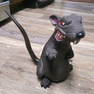 NWT Standing Ferocious Rat Decor